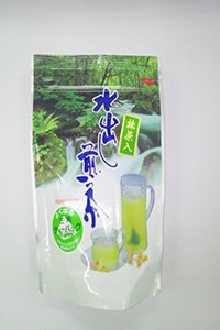 夏に水出し煎茶のティ―バックは、板橋区高島平にあります ㈱時田園に販売してます、