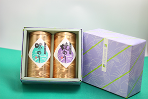 時田園 高島平店 焼海苔・味海苔缶入り2本セット