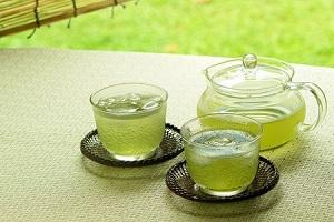 夏の水出し茶。板橋区高島平にある㈱時田園で販売してる限定品です。