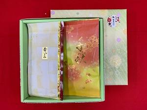 ㈱時田園高島平店では、敬老の日用のお茶ギフトを販売